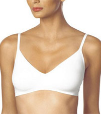 Flawless Fit Microfiber Triangle Bralet Bra